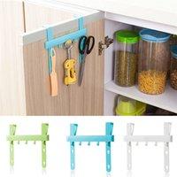 Wholesale Quality Door Rack Hooks Kitchen Hanging Storage Hanging Holders Accessories hanging door rack holder on sale