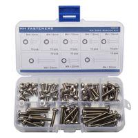 assortment machine screws stainless - M4 Torx Pan Head Machine Screws Assortment Kit Stainless Steel Thread Dia mm