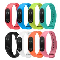 Wholesale Hot Replace Strap for Xiaomi Mi Band MiBand Silicone Wristbands for Xiaomi Band Smart Bracelet Color for Xiomi Band