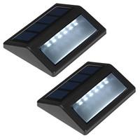 best solar lawn lights - 6 LED Best Sale Ultra bright Waterproof Heatproof Solar Automatic Light High Quality Night Sensor Lawn Wall Lamps