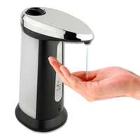Wholesale 24pcs Handsfree Automatic Sensor Soap Lotion Dispenser Hands Free Infrared Touchless Dispenser For Kitchen Bathroom