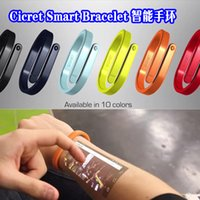 Wholesale wristbands Cicret Smart Bracelet Intelligent bracelet worn equipment arm tablet on the skin need to pre order