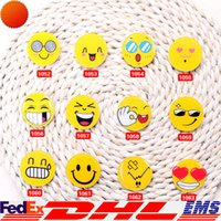 baby brooch pin - Baby Emoji Brooch Resin Smiling Face Brooch Pin Gift Unisex Expression Badge Clothing Accessories Bag Accessories Free DHL XL T131