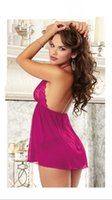 Wholesale New sexy package body purple charming ladies lingerie lace over units can enjoy discounts to send the goods