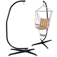 hammock stand - Solid Steel C Hammock Frame Stand Construction Hammock Air Porch Swing Chair New