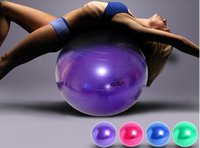 balance flexibility - Color Yoga Exercise Ball Balance Flexibility Strength Training Equipment