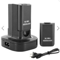 battery charger base station - with Rechargeable Battery Dual Charger Base Charging Station Dock AC V HZ mAh Xbox Controller