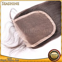 alibaba indian hair - Beauty great quality natural color human hair lace closures golden supplier in Alibaba own factory fast shipping