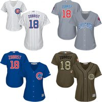 baseball shirts sale - Hot sale Authentic Chicago Cubs Womens Ben Zobrist jerseys Cubs Baseball Jersey Shirt Lasies Embroidery Logos Stitched Size S XL
