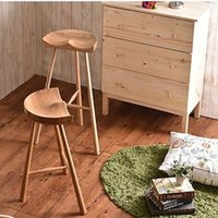 Wholesale New solid wood bar stool bar chair wooden furniture fashion home furniture dining room furniture living room furniture