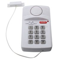 alarms for sheds - New High Quality Security Keypad Door Alarm System With Panic Button For Home Shed Garage Caravan