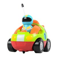 airplane toddler - Remote Control Cartoon RC Cars With Music And Lights Electric Radio Control Toy for Baby Toddlers Kids Children