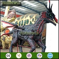 animatronic dinosaur museum - by theme park dinosaur park playground museums Customer Made Animatronic Moving Dragon Horse
