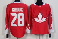 Wholesale Hockey World Cup jersey Claude Giroux Corey Crawford Drew Daughty Duncan Keith name number Stitched
