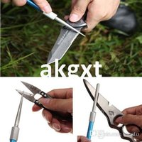 Wholesale Details about in1 Outdoor Hunting Fishing Sharpener Diamond Knife Saw Hook Flat Edges G9 D504