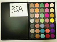 Wholesale Morphe A B C W P T Warm color eye shadow Palette face make up