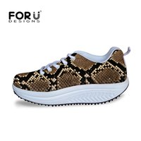 beauty wedge fashion - New Fashion Brand Women Beauty Fitness Shoes Women s Casual Shoes Serpentine Leopard Printed Female Swing Wedges Shoes Lady