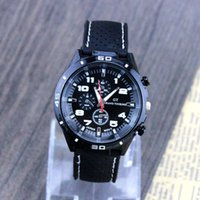 Wholesale Black Strap Watch Men S Business Multifunction Dial Men S Watch With A Variety Of Fashion Watches Luminous