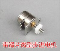 mini stepper motor - 100pcs V ohm Mini slipway Vane Screw phase wire stepper motor mm