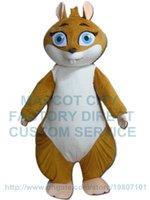 Wholesale Squirrel Mascot Costumes - cartoon squirrel mascot costume custom adult size cartoon character cosply carnival costume 3252