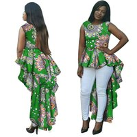 africa wax - African Print Ankara Dress Top Custom Made Ball Gown Top Dress Africa Wax Women Dress Suits African Ankara Dress Top WY145