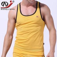 basketball polo shirts - Men Sports Mesh Vest WJ Nylon Athletic Sex Basketball Run Sleeveless Big Size Summer Bodybuilding Shirt