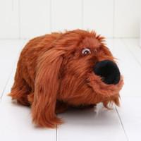 best pet games - 30pcs cm New The Secret Life Of Pets Plush Toys Duke Gog Stuffed Soft Baby Toy Best Christmas Gift For Children