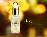 Wholesale New k Gold Hyaluronic Acid Essential Whitening Moisturizing Anti Aging Gold Pure Foil Essence Serum Face Lift Anti Aging Whitening Moistur