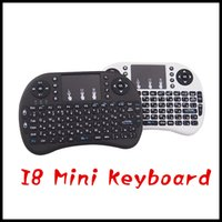 Wholesale Fly Air Mouse Rii Mini i8 Wireless QWERTY Keyboard with Touchpad for PC PadNotebook Google Android TV Box Xbox360 PS3 HTPC IPTV
