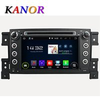 Wholesale 1024 Quad Core Ghz Android Car DVD GPS Navigation For SUZUKI GRAND VITARA Automotivo Radio Stereo Cassette Player