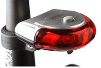 bicycle automatic - UFO Shape Taillight Bike Light LED Automatic Bicycle Lights Bicycle Taillights Bike Warning Light BL027
