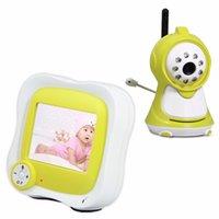 Définition des caméras vidéo France-New 3.5 '' LCD Wireless Night Vision Caméra vidéo Baby Monitor Caméras de sécurité Récepteur avec haute définition Appareil photo numérique bébé