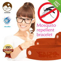 Cheap 1000pcsAnti Mosquito Bugs Repellent Wrist Band Bracelet Insect Netsnatural essential oil Mosquito Bangle Wrist For BabyAdult TPA003