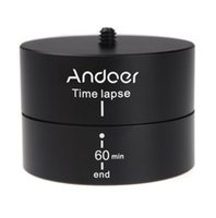 For Camera aluminum stabilizer - Andoer min Degrees Panning Rotating Time Lapse Stabilizer Tripod Adapter for Gopro DSLR D1186