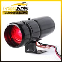 Wholesale 30mm RPM shift light rpm warning selectable Black case Red led Tachometer Auto meter Auto gauge Car meter
