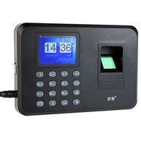 Wholesale Time Recorder Clocking In Clock Machine Attendance Employee Fingerprint Attendance Machine F6110A