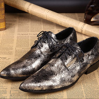 bank fashion shoes - men classic fashion trend right bank toe Retrostyle Oxford English style shoes party shoes wedding shoes