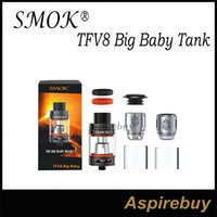 baby base - SMOK TFV8 Big Baby Tank The Enlarged Version Based on TFV8 Baby ML Atomizer with V8 Baby X4 T6 Core V8 Baby RBA SMOK TFV8 Big Baby Atomizer