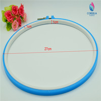 best choice framing - 10 inch cm best selling plastic circular embroidery frame as tools set for DIY home accessoreis with colored choice for sale