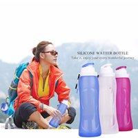best water bottle for kids - 500ml free Safe best nalgene OTF foldable water bottle reusable personalised drink bottles for kids Red Blue White Color
