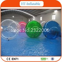 Wholesale HOT High Quality PVC Bubble Ball Walk Water Inflatable Water Walking Balls With Pool Floating Water Ball