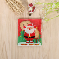 bakery packing - 300 Xmas Santa Claus Cookie Packing Bag Christmas Bakery Gift Cello Bag x11cm C1102C