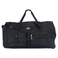 Wholesale Tote Duffle Bag Carry On Luggage Travel Suitcase Black Rolling Wheeled