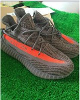 Wholesale 3 SPLY new v2 boost sply Kanye West SPLY Boost V2 big orange streak across Y3 Boost