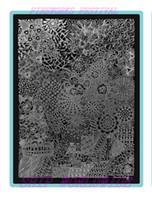 Wholesale Nail Art Stamping Large Image Plate Stamping Image Plates Manicure DIY
