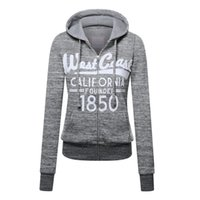 Wholesale Leisure Colours - 2016 Hot Sale High-quality Women Fashion Sports and Leisure Polyester Slim Zipper Hoodie Sweaters Multiple Colour Coat(9711)