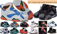 Wholesale High Quality Cheap Retro Mens Basketball Shoes Sneakers Original Retro VII Men Basketball Shoes Sports Shoes
