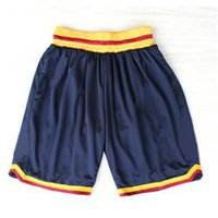 Wholesale Cavaliers Basketball Shorts Stitched Logo Embroidery New Material Rev Sports Shorts Mix order