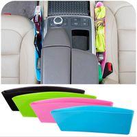 Wholesale CATCH CADDY Storage Box Seat Pocket Catcher Plastic cracks compressible car seat Car trash debris glove box Caught debris Bag Oraganizer