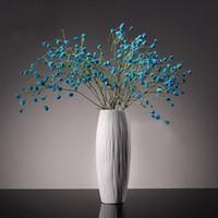 achat en gros de ceramic and porcelain vase-Céramique Creative Fashion Blanc Vase Haute Qualité Moderne Simple Porcelaine Salon Décoration Ameublement 3N011